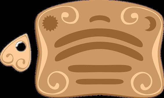 Ouija Board, Icon, Ouija, Ouija Icon, Symbol