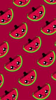 Background, Watermelon, Pattern, Fruit, Food, Sweet