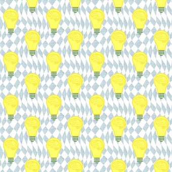 Background, Light Bulb, Pattern, Bulb, Brain, Mind