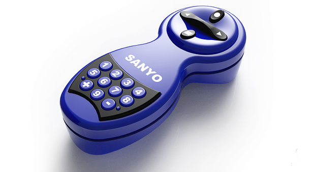 Remote Control, Clicker, Technology, Sanyo
