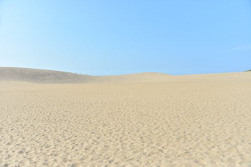 Desert, Sand, Dunes, Waves