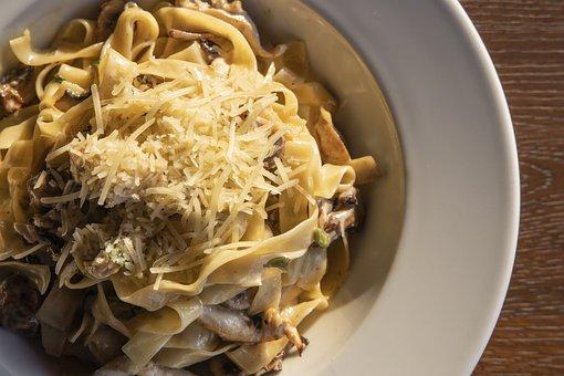 Pasta, Food, Dish, Cuisine, Fettuccine