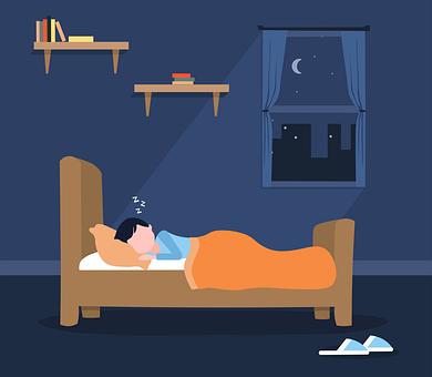 Sleep, Bed, Icon, Sleep Icon, Night, Asleep
