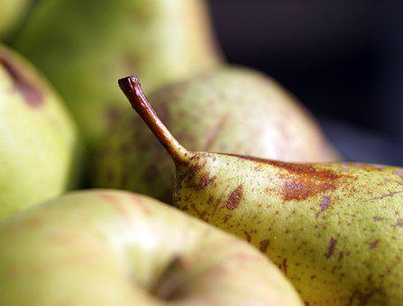 Pears, Fruits, Food, Pome Fruit, Harvest, Ripe, Healthy