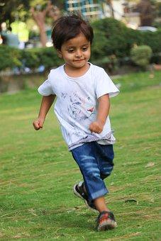 Child, Running, Little Boy, Boy, Kid, Preschooler