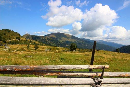 Meadow, Farm, Ranch, Fence, Demarcation, Fields