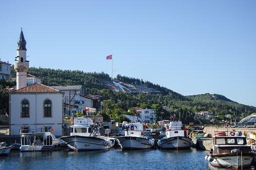 Harbor, Port, Motorboats, Speedboats, Powerboats