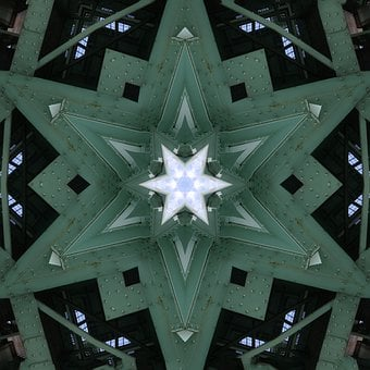 Kaleidoscope, Abstract, Design, Museum, Bochum
