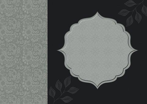 Border, Frame, Jewellery, Pattern, Texture, Elegant