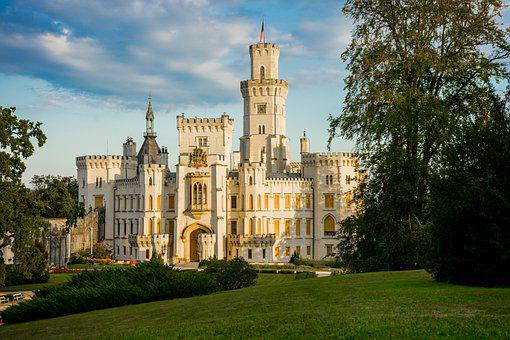 Castle, Palace, Building, Architecture, Facade