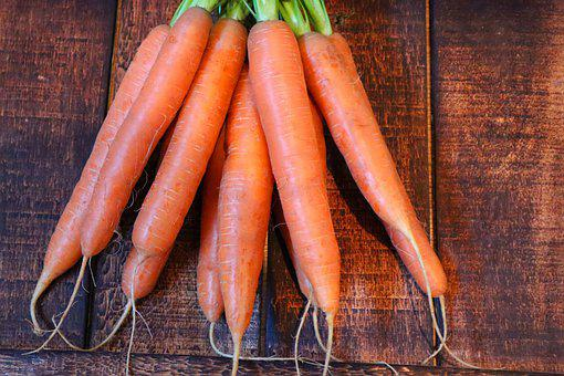Carrots, Vegetables, Root Crops, Harvest, Produce