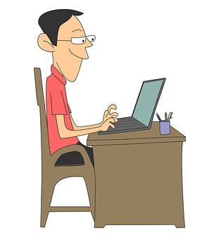Laptop, Pc, Working, Work At Home, Worker, Project