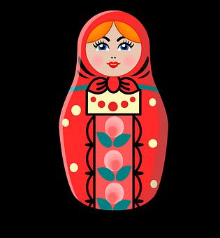 Russian, Doll, Icon, Russian Doll, Matryoshka Doll