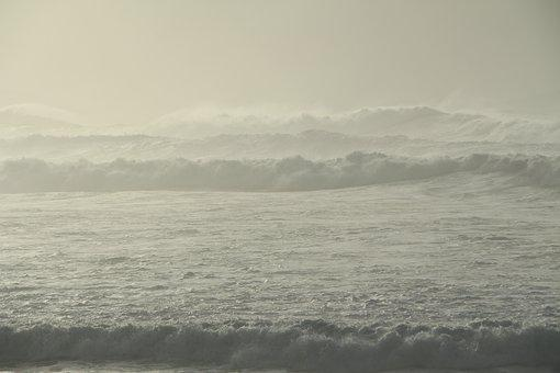Seascape, Sea, Waves, Seawaves, Ocean, Water, Tide