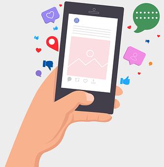 Phone, Screen, Internet, Social Media, Like, Unlike
