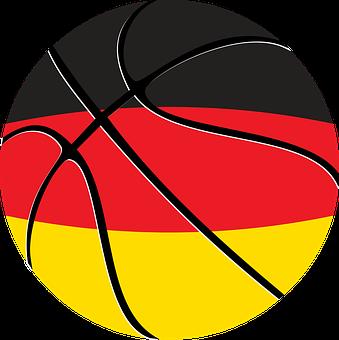 Ball, Basketball, Flag, Germany, Leisure, Line, Shape