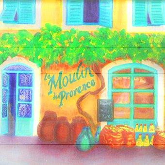 Shop, Gourmet, Bakery, Gifts, Wood, Digital Paper