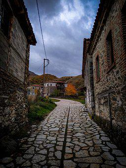Alley, Street, Village, Path, Old Stone Houses, Houses