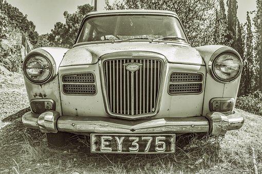 Car, Old, Vintage, Classic, Old Car, Vintage Car