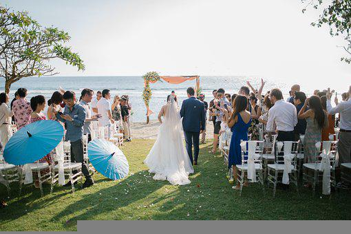 Wedding, Wedding Ceremony, Beach Wedding, Marriage