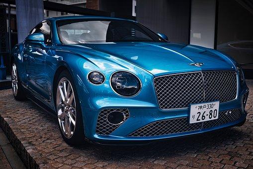 Bentley, Car, Vehicle, Automobile