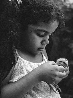 Child, Girl, Childhood, Innocence, Hands, Hair, Games
