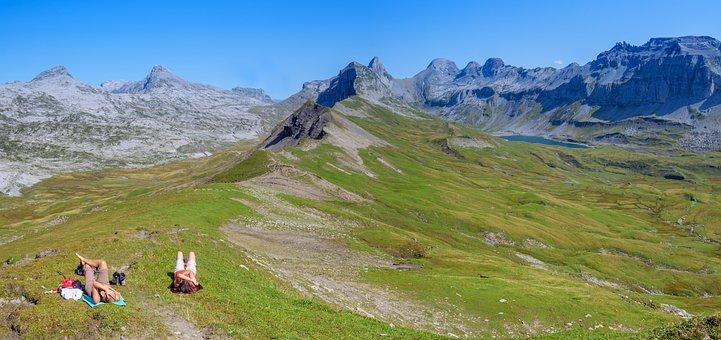 Alpine, Hike, Bergsee, Switzerland, Alp, Alm