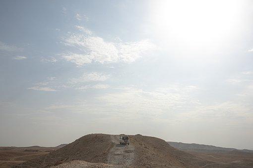 Landscape, Desert, Mountain, Sandstone