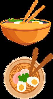 Ramen, Noodles, Icons, Ramen Icon, Noodle Icon