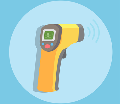 Thermometer, Temperature, Pyrometer, Temperature Check