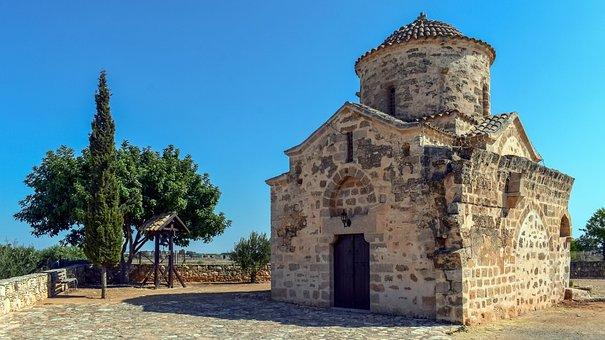 Church, Architecture, Facade, Stoneworks, Stone Walls