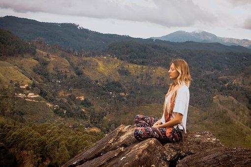 Woman, Meditate, Healing, Relax, Nature, Calm, Balance