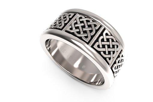 Celtic Ring, Wedding Ring, Ring, Silver Ring, Fashion