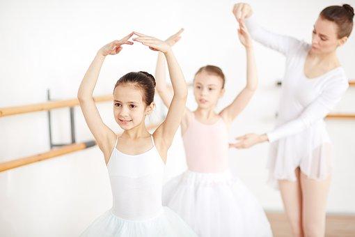 Ballerinas, Dancers, Girls, Kids