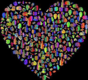Heart, Love, School, Education, Frame, Border, Passion