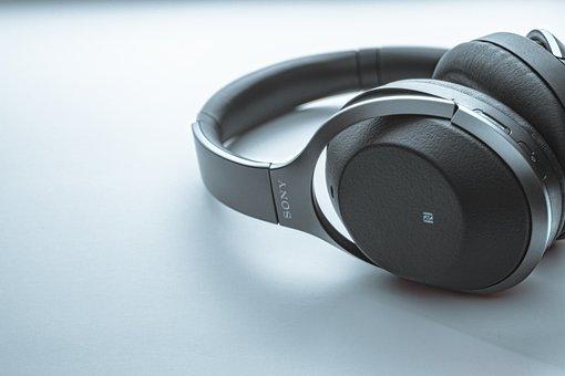 Headphones, Sony, Music, Headset, Listening Device