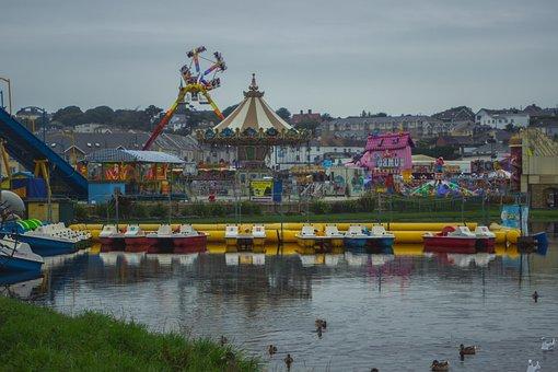 Amusement Park, Park, Carnival, Funfair, Fair, Rides