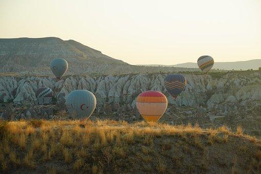 Hot Air Balloons, Cappadocia, Balloons, Flight, Float