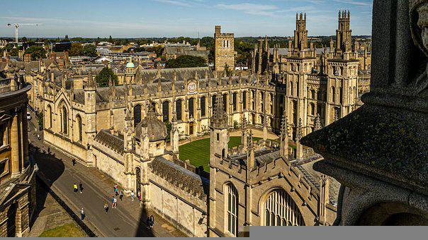 Building, Campus, University, Oxford, England, Historic