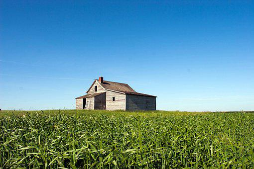 Farm, House, Farmhouse, Home, Farming, Agriculture