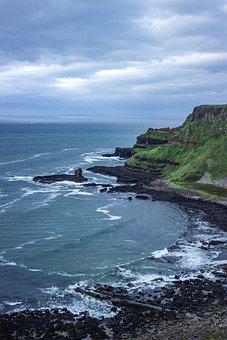 Sea, Cliff, Coast, Coastline, Seaside, Shore, Seashore