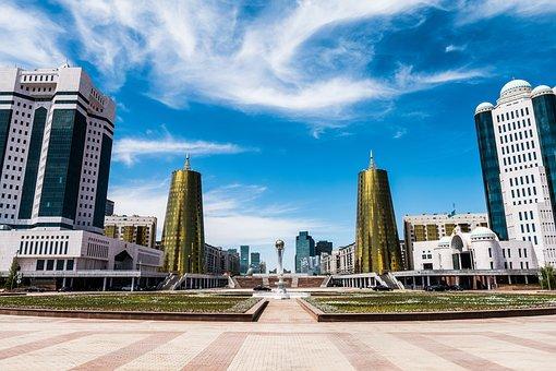 Buildings, Tower, Skyline, City, Center, Bajterek