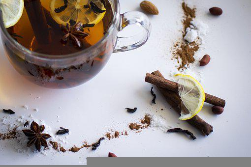 Lemon Tea, Ingredients, Still Life, Tea, Drink