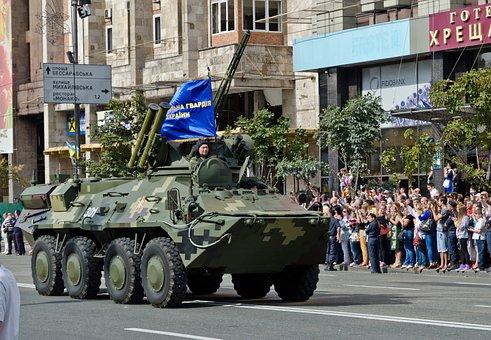 Parade, Military, Tank, Army Tank, Ukrainian Military