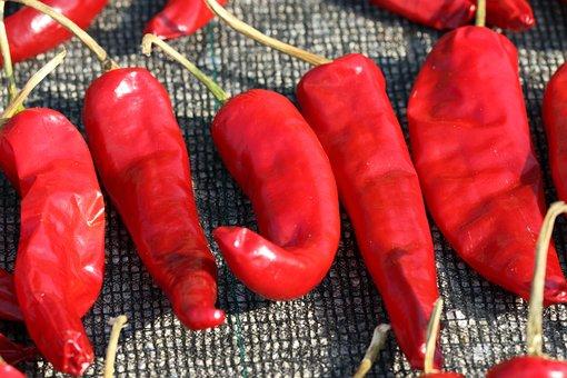 Pepper, Chili Pepper, Spice, Vegetable, Vegetables