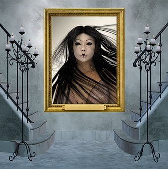 Woman, Ghost, Spirit, Daemon, Geisha, Yuki-onna, Yurei