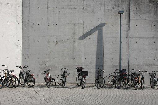 Bike Racks, Bicycles, Parking Space, Bicycle Parking