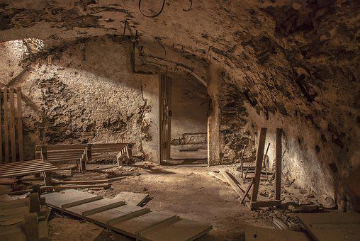 Basement, Abandoned, Ruins, Cellar, Old