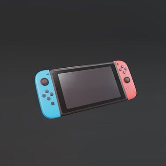 Console, Nintendo Switch, Gaming, Controller, Play