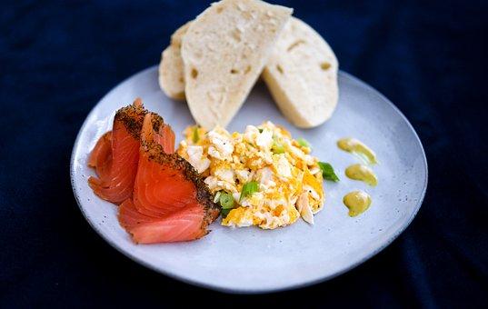 Eggs, Breakfast, Food, Meal, Healthy, Toast, Brunch